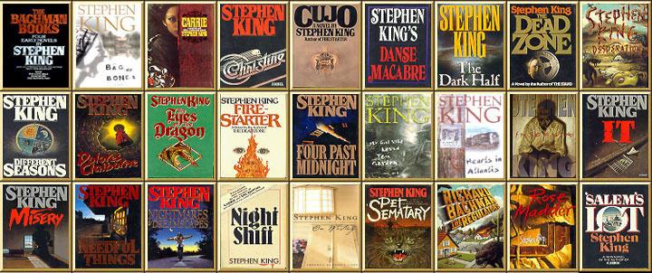 Stephen King - (presque) l'intégrale