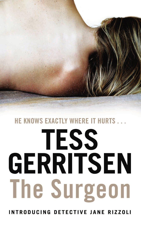 the surgeon tess gerritsen cover