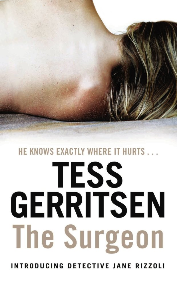 the surgeon tess gerritsen cover
