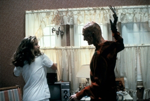 Freddy and Nancy fighting