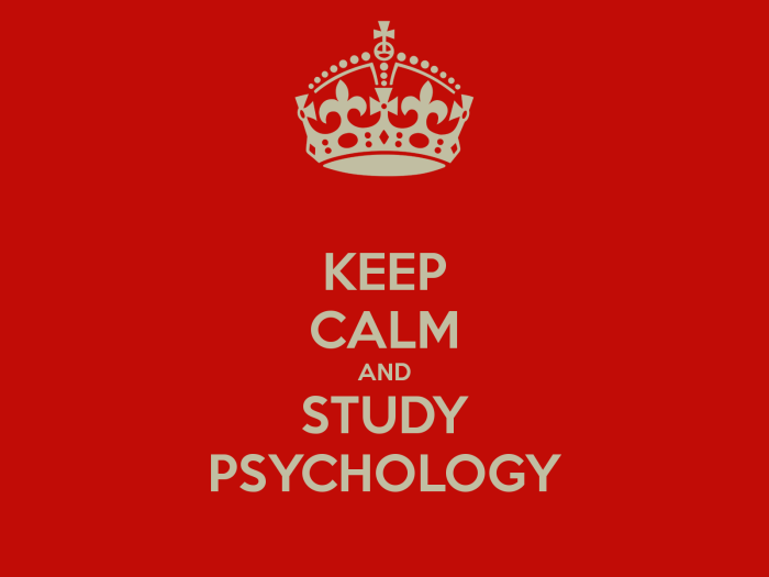 Keep calm and study psychology wallpaper