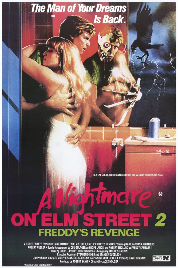 Nightmare On Elm Street 2 Freddy's Revenge Poster
