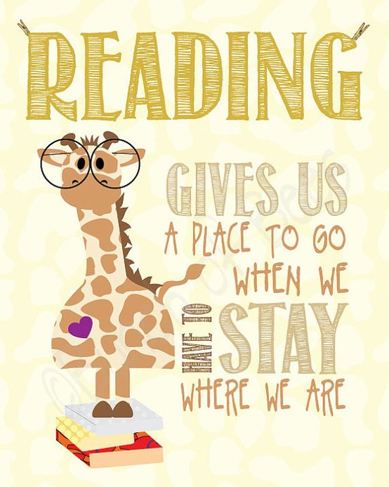 reading is an escape
