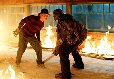 Freddy vs Jason - Fire Fight