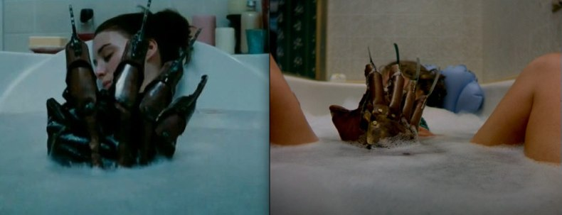 Nightmare on elm street bathtub scene