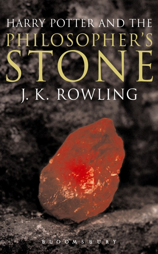 1 - Harry Potter and the Philosopher's Stone Adult's Cover