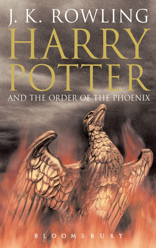 5 - Harry Potter and the Order of the Phoenix  Adult's Cover