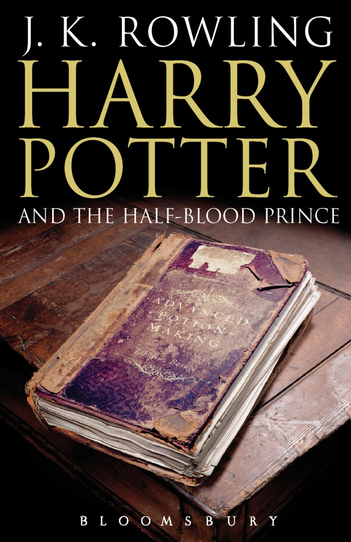 6 - Harry Potter and the Half-Blood Prince Adult's Cover