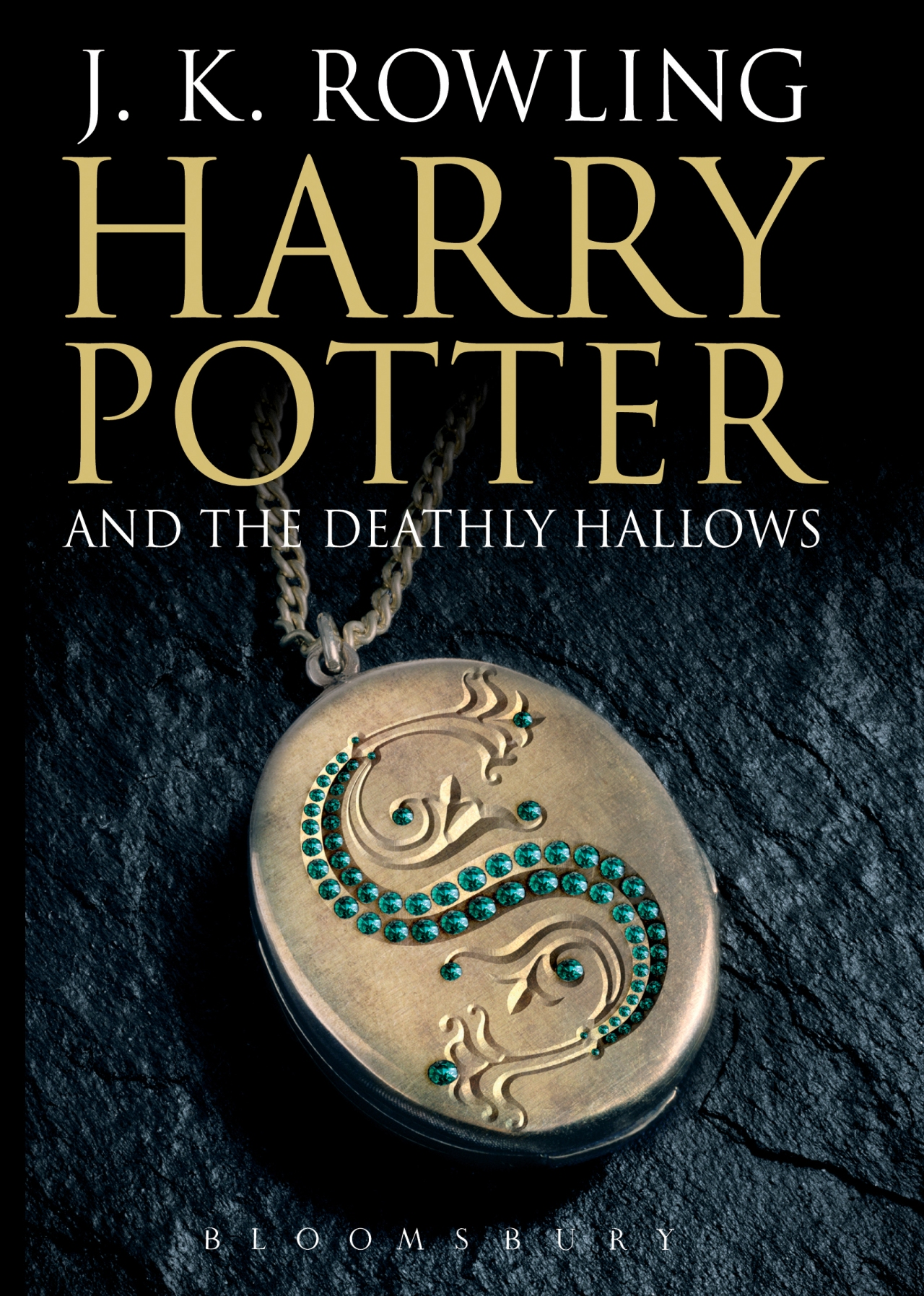 7 - Harry Potter and the Deathly Hallows Adult's Cover