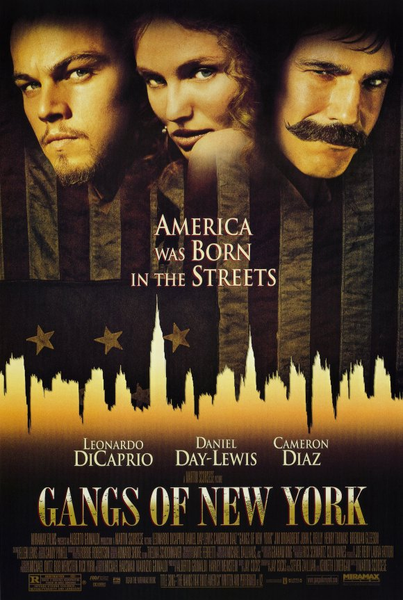 Gangs of New York 2002 Movie Poster