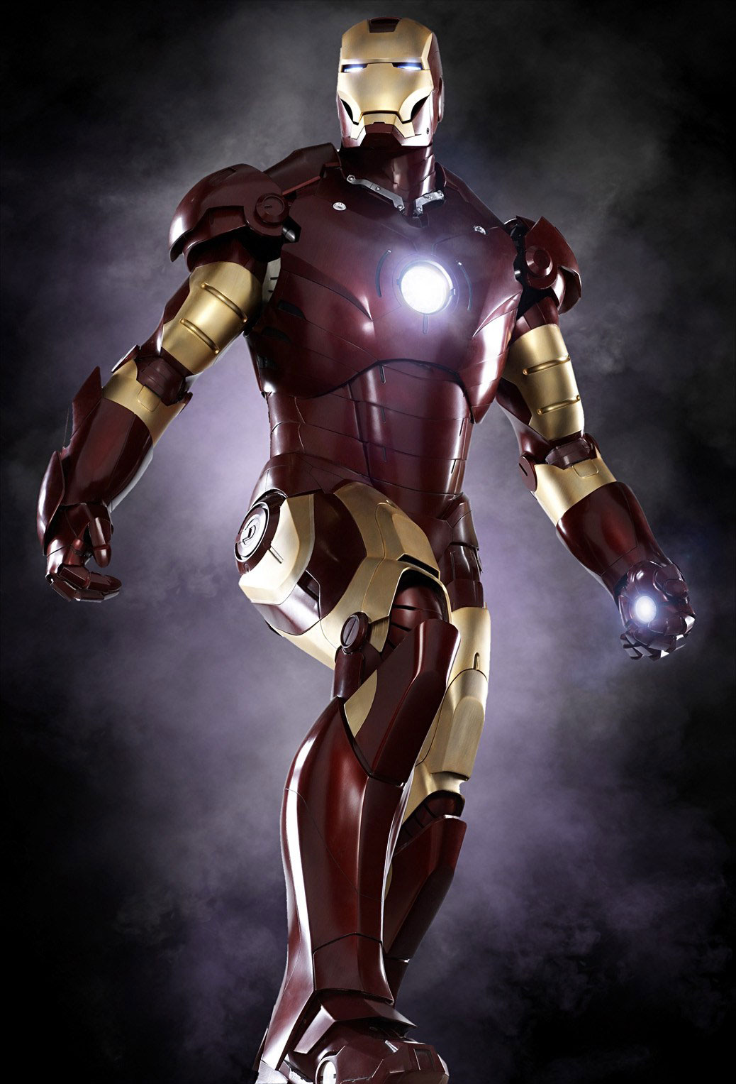 This Supreme Edition Iron Man costume brings the realistic look of Iron Man's super suit into a costume that you can wear without crafting super-genius level technology. The costume includes a black jumpsuit with gold metallic shorts that look like armor.