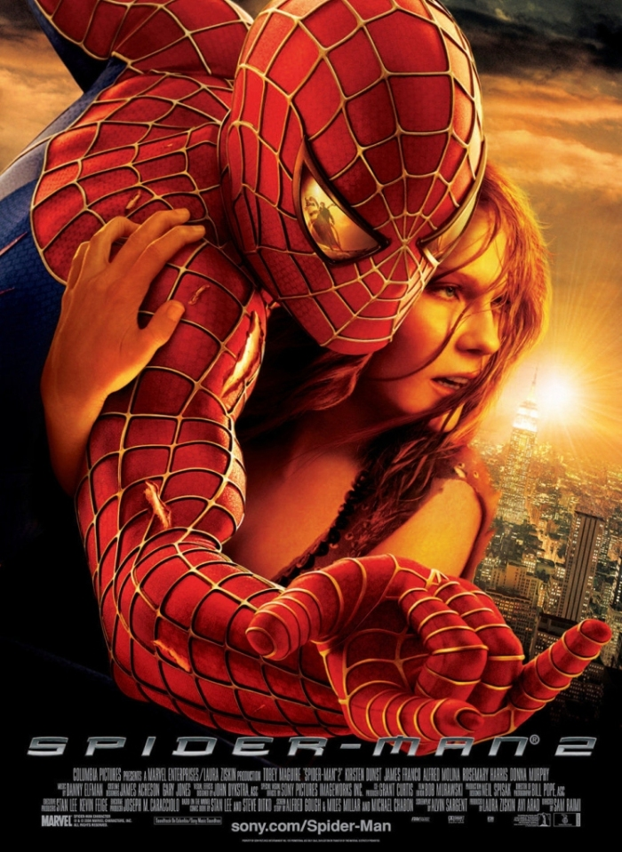 Spider-Man 2 Movie Poster 2004