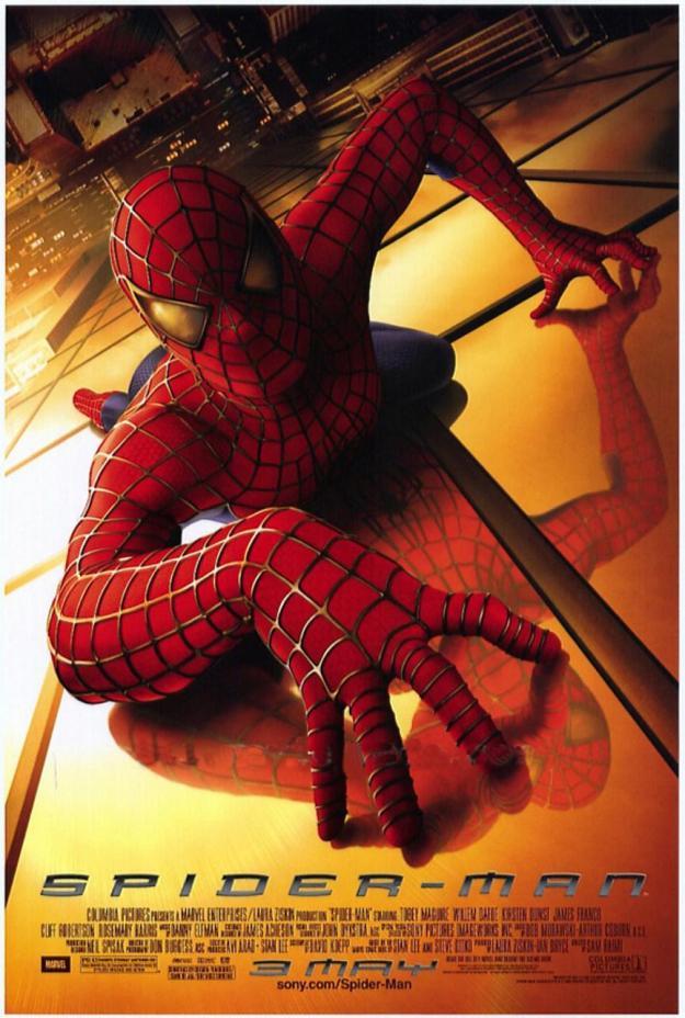 Spider Man 2002 Poster