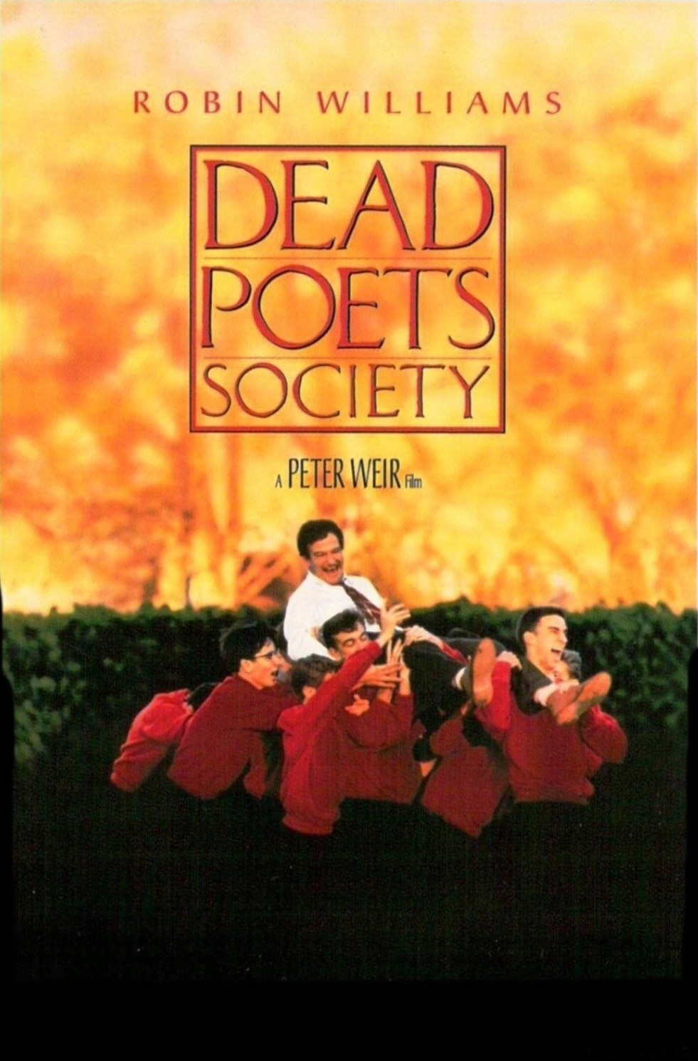 review dead poets society the sporadic chronicles of a  dead poets society poster ""