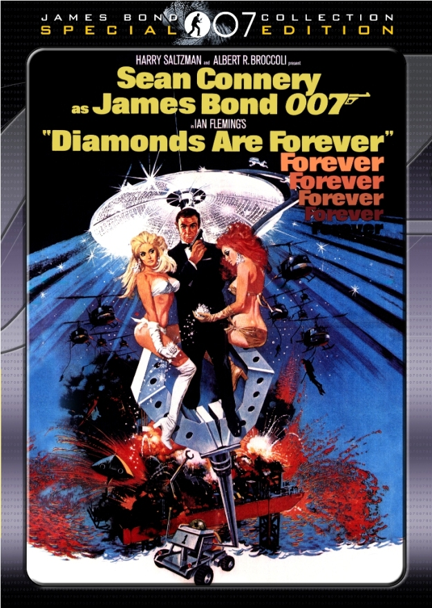 Diamonds Are Forever (1971) cover