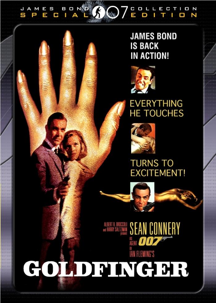 Goldfinger (1964) cover