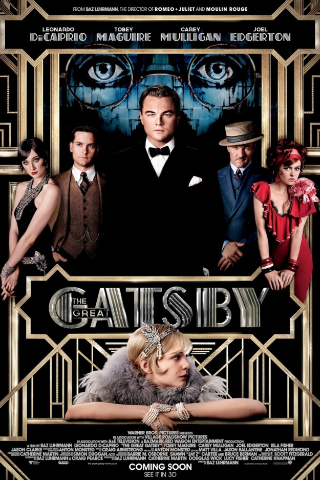 GREAT GATSBY 2013 MOVIE POSTER