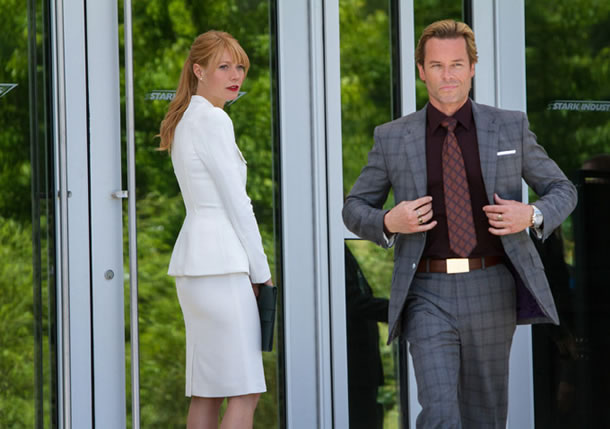 Iron Man 3 Pearce and Paltrow