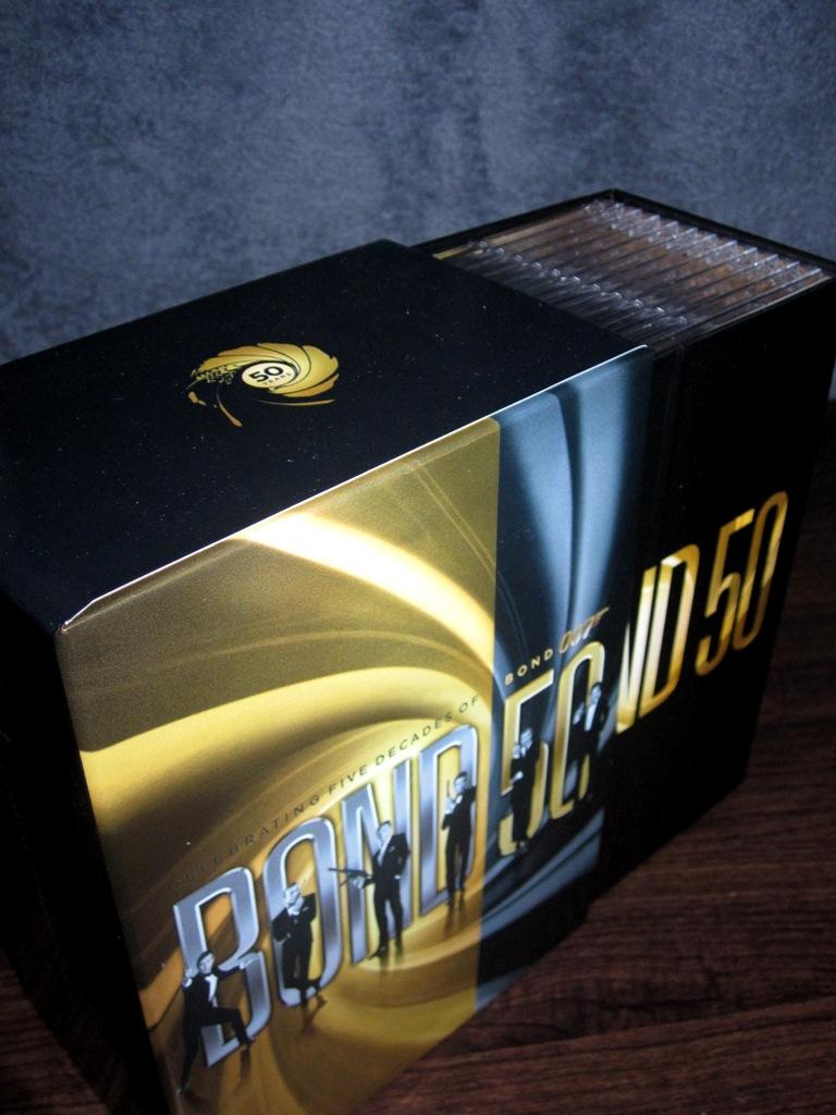 james bond 50th anniversary book