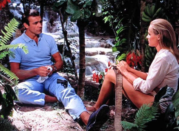 James Bond and Honey Ryder Dr No