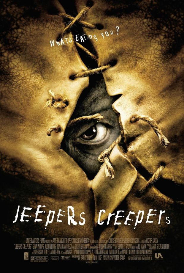 JEEPERS CREEPERS MOVIE POSTER 2001