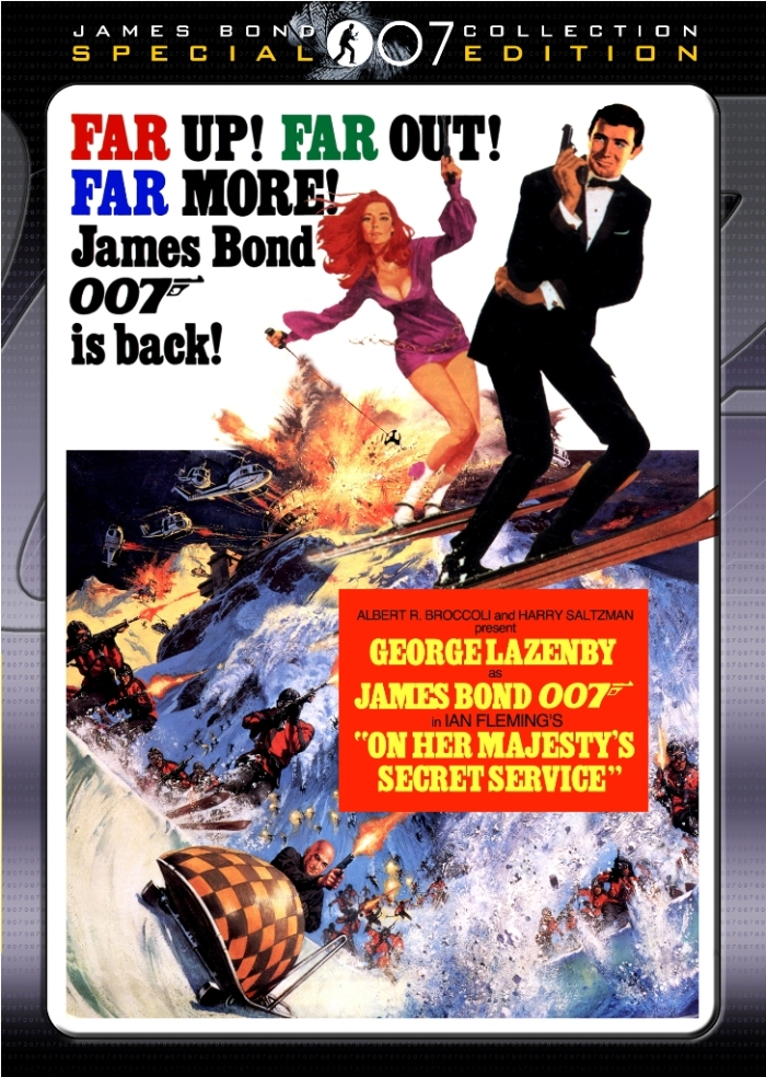 On Her Majesty's Secret Service (1969) cover