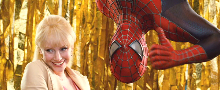 Spiderman Kirsten Dunst Kiss