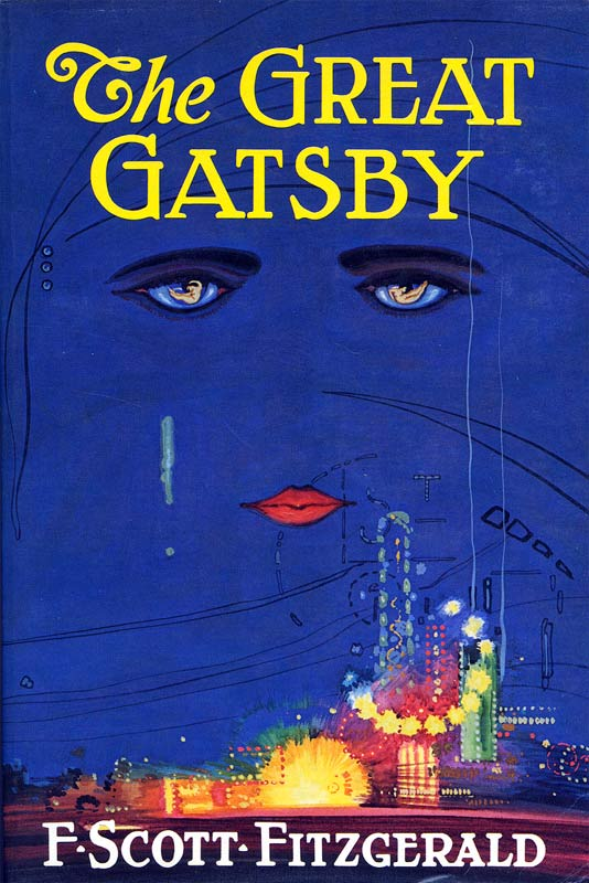 THE GREAT GATSBY F SCOTT FITZGERALD COVER