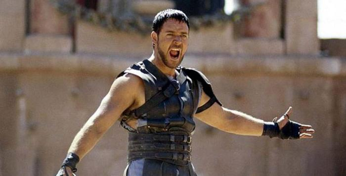 """""""Are you not entertained? Is this not why you are here?"""" - Maximus"""