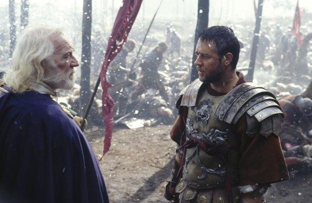 GLADIATOR MARCUS AURELIUS AND MAXIMUS
