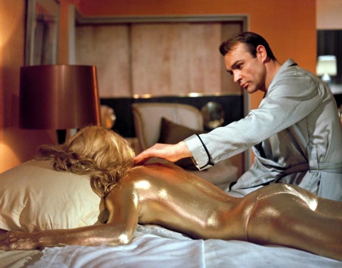 GOLD FINGER GOLDEN GIRL JAMES BOND
