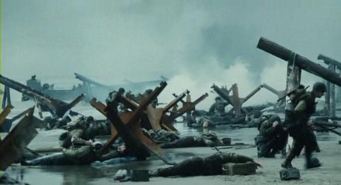 SAVING PRIVATE RYAN BEACH LANDING