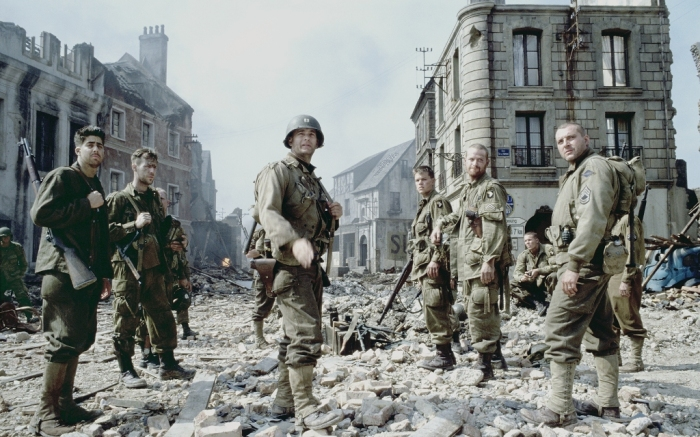 SAVING PRIVATE RYAN WAITING FOR THE GERMANS