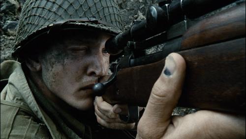 Sniper Private Daniel Jackson saving private ryan