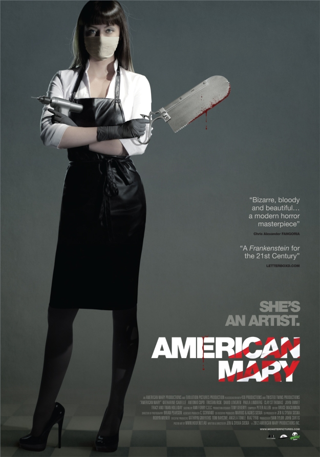 AMERICAN MARY MOVIE POSTER 1
