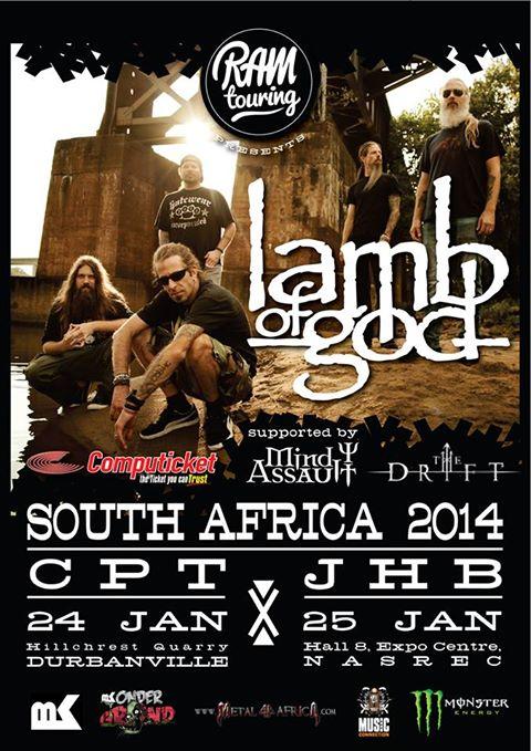 Lamb of God SA 2013