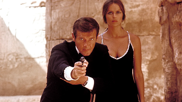 The Spy Who Loved Me Bond and Anya