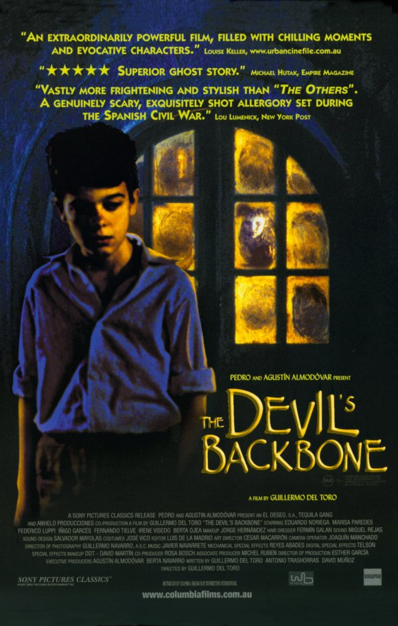 the devil's backbone poster