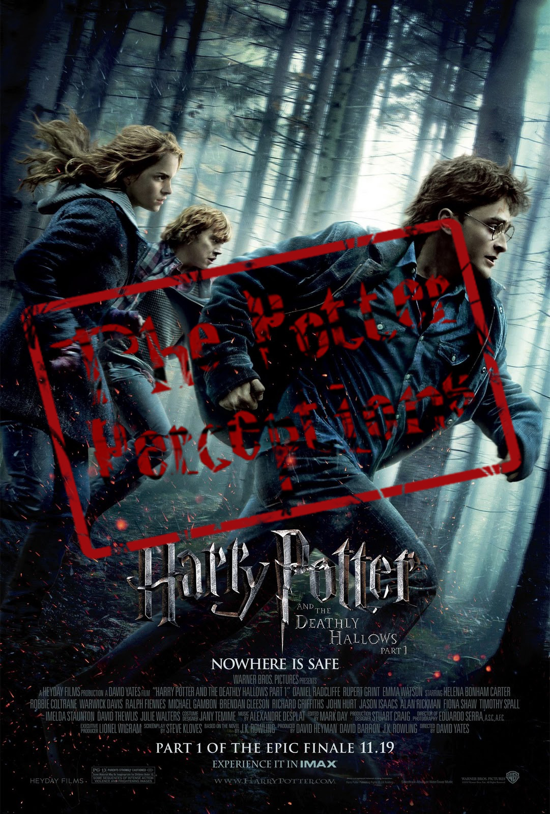 The potter perceptions the deathly hallows part 1 2010 the harry potter and the deathly hallows part 1 biocorpaavc Choice Image