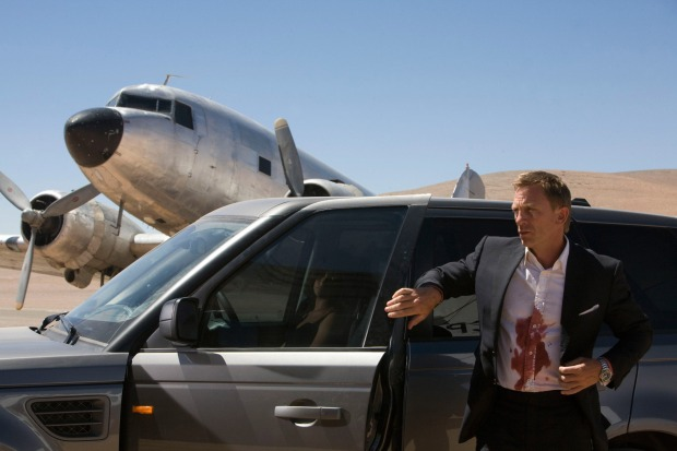 quantum of solace car