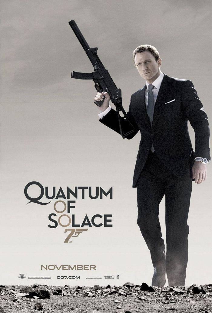 quantum of solace movie poster
