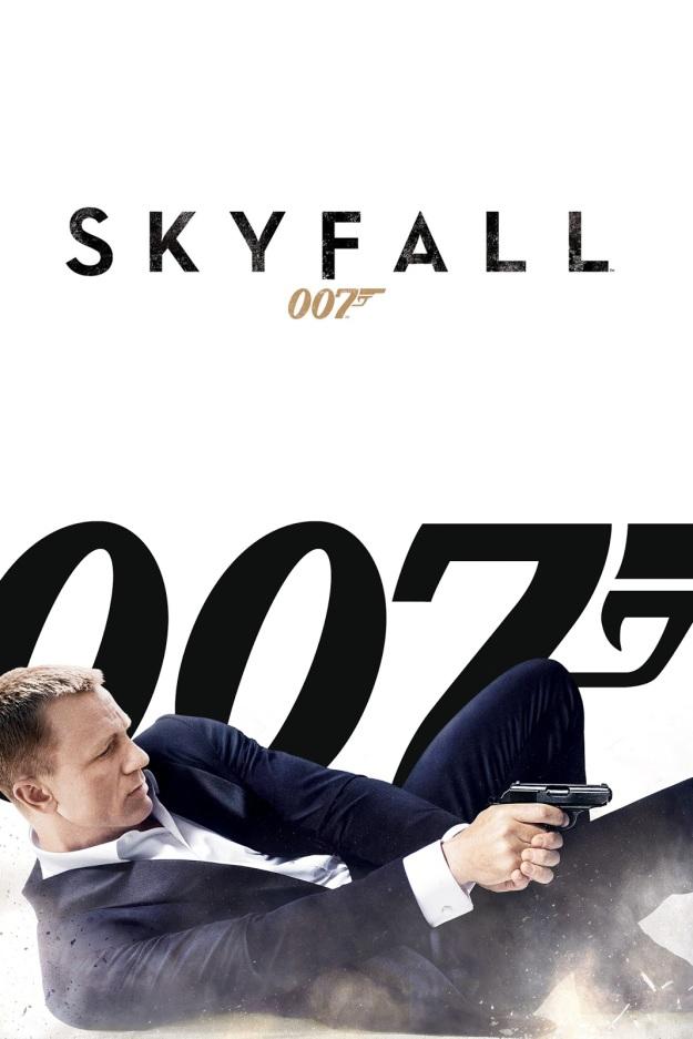 skyfall poster white