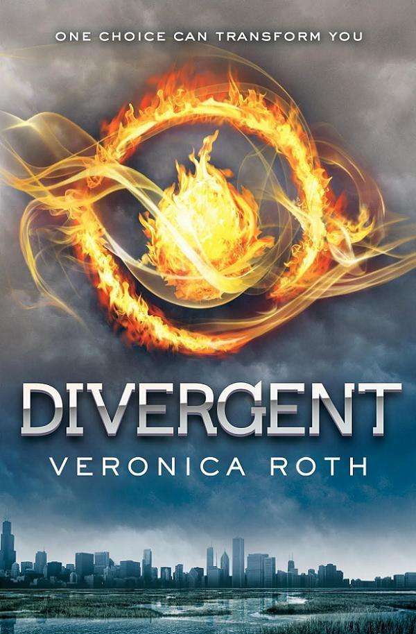 divergent veronia roth book cover