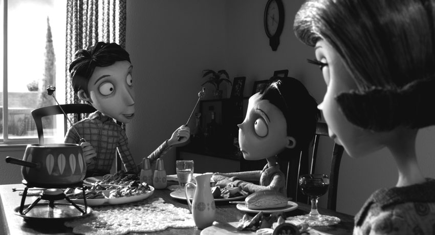 Review Frankenweenie 2012 The Sporadic Chronicles