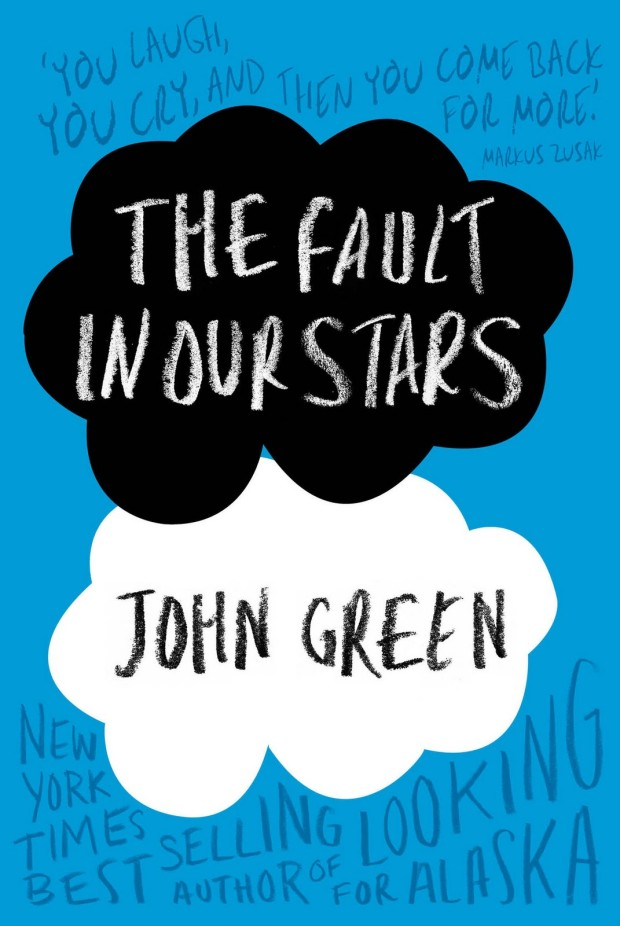 the fault in our stars john green cover