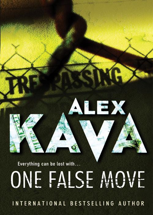 alex kava one false move cover