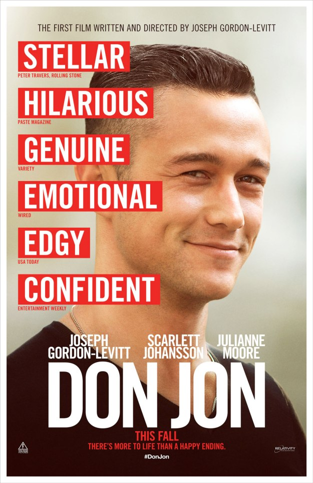 DON JON MOVIE POSTER