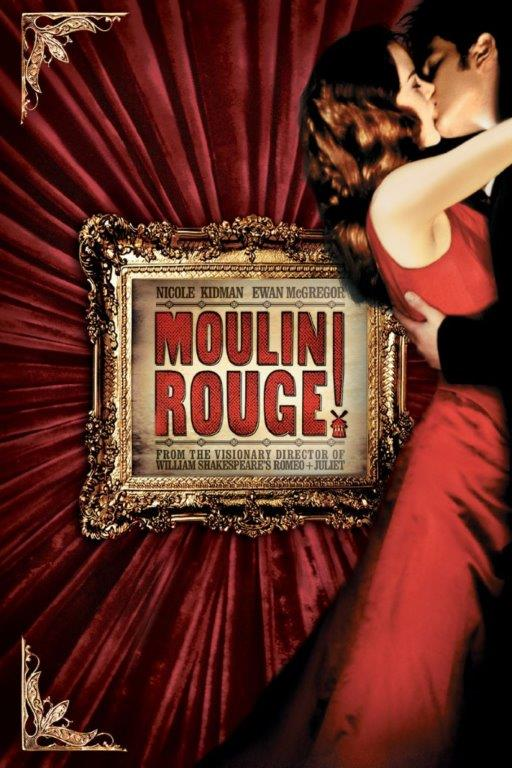 Moulin-Rouge movie poster