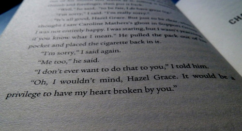 Iconic Book Scene - Zoe