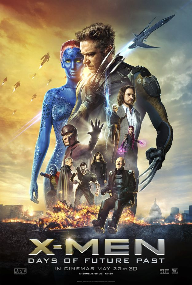 days of future past poster